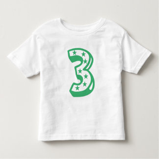 Happy Third Birthday Shirt