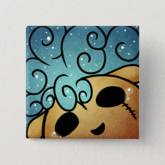 Happy Thoughts 15 Cm Square Badge
