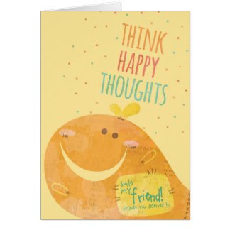 Happy Thoughts Card