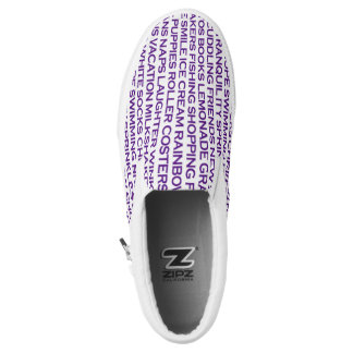 Happy Thoughts Printed Shoes