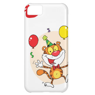 Happy Tiger In Party iPhone 5C Cases