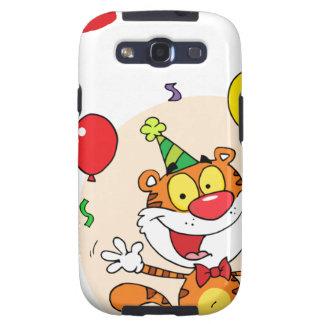 Happy Tiger In Party Galaxy SIII Cases
