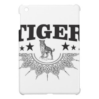 happy tiger iPad mini cover
