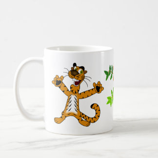 happy tiger mug