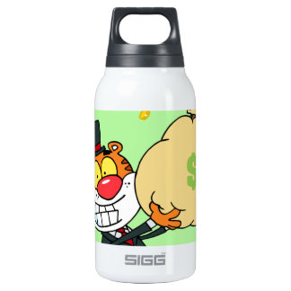 Happy Tiger Rolling in the Money 0.3L Insulated SIGG Thermos Water Bottle