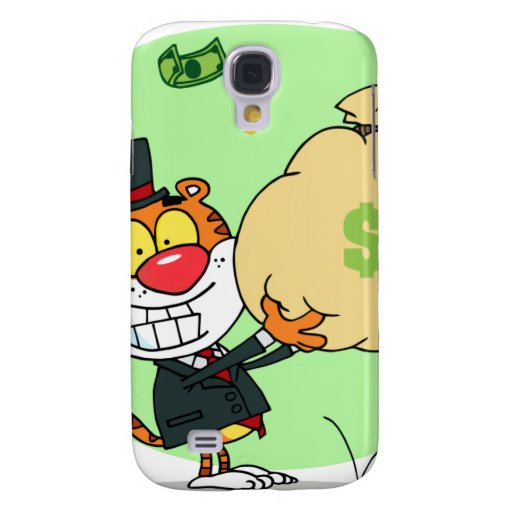Happy Tiger Rolling in the Money HTC Vivid / Raider 4G Case
