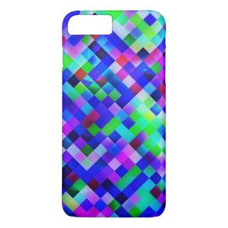 happy tiles blue (C) iPhone 7 Plus Case