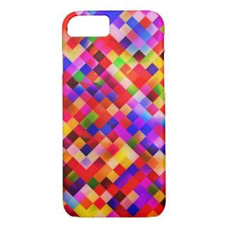 happy tiles red (C) iPhone 7 Case