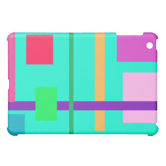 Happy Time Turquoise Case For The iPad Mini