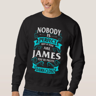 Happy To Be JAMES Tshirt