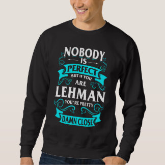 Happy To Be LEHMAN Tshirt