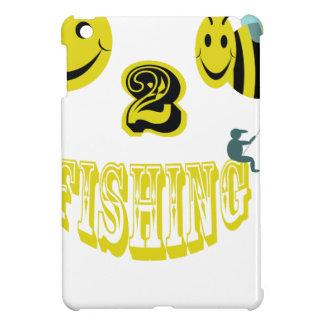 happy to bee fishing iPad mini cases