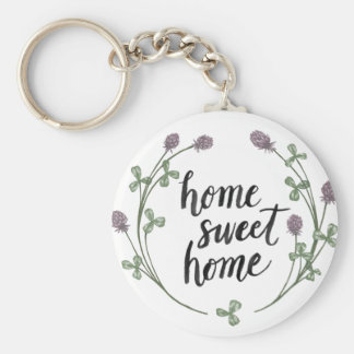 Happy to Bee Home Words I | Home Sweet Home Key Ring