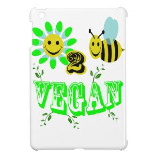 happy to bee vegan iPad mini cases