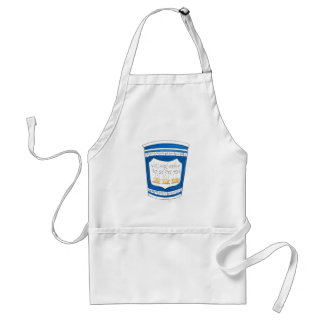 Happy To Serve You Greek NYC Blue Diner Coffee Cup Standard Apron