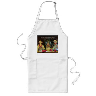 Happy to spend another Christmas with You Long Apron