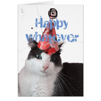 Happy to whatever birthday card