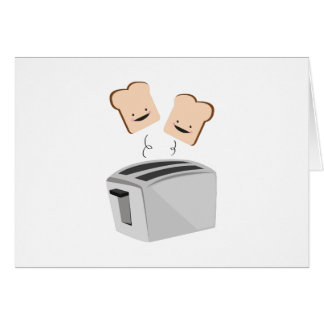 Happy Toaster Greeting Card