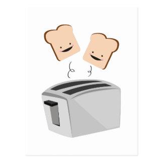 Happy Toaster Postcard