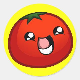Happy Tomato Sticker