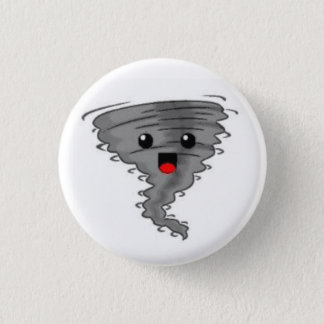 Happy Tornado 3 Cm Round Badge
