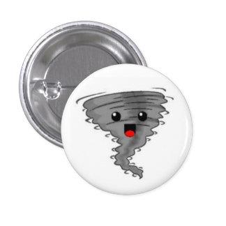 Happy Tornado 3 Cm Round Badge