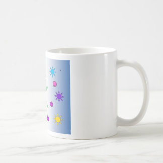 Happy Tote Basic White Mug