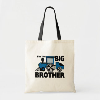 Happy Tracks Big Brother Budget Tote Bag