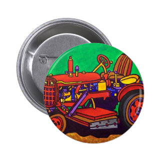 Happy Tractor by Piliero Pin
