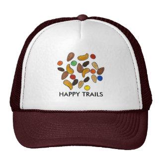 Happy Trails Nuts Raisins Snack Food Trail Mix Hat