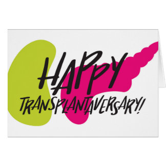Happy Transplantaversary SPK Card