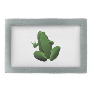 Happy Tree Frog Belt Buckles