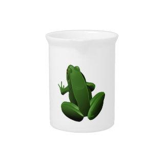Happy Tree Frog Beverage Pitchers