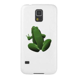 Happy Tree Frog Galaxy S5 Cover