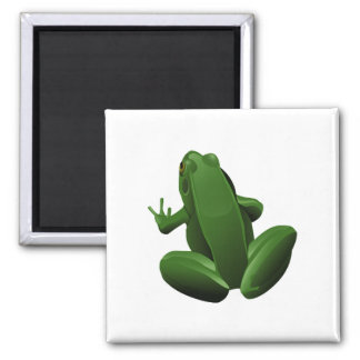 Happy Tree Frog Magnet