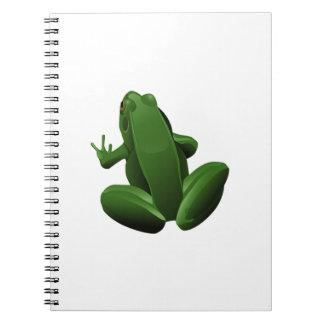 Happy Tree Frog Notebook