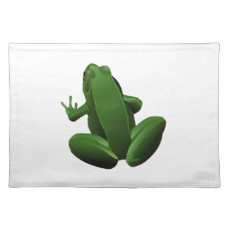 Happy Tree Frog Placemat