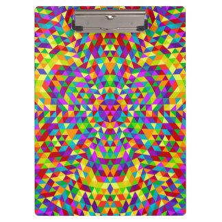Happy triangle mandala 2 clipboard