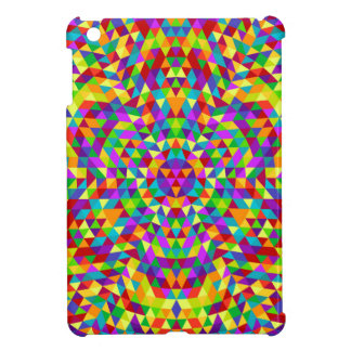Happy triangle mandala 2 iPad mini cover