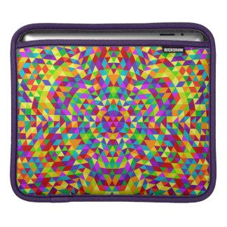 Happy triangle mandala 2 iPad sleeve
