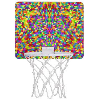 Happy triangle mandala 2 mini basketball hoop