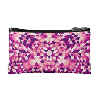 Happy triangle mandala cosmetic bag