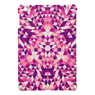 Happy triangle mandala iPad mini case