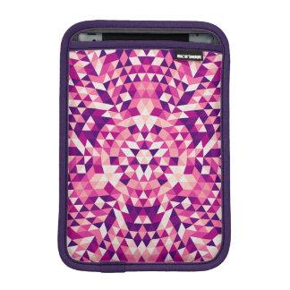 Happy triangle mandala iPad mini sleeve