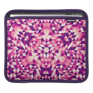 Happy triangle mandala iPad sleeve