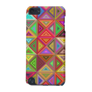 Happy triangle mosaic iPod touch (5th generation) case