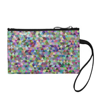 Happy triangle pattern coin purse