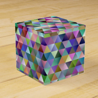Happy triangle pattern favour box