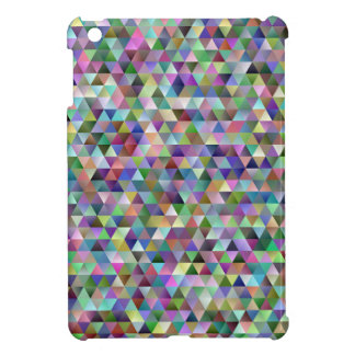 Happy triangle pattern iPad mini cover