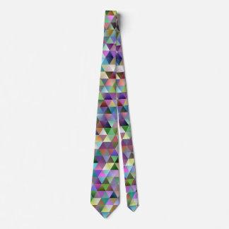 Happy triangle pattern tie